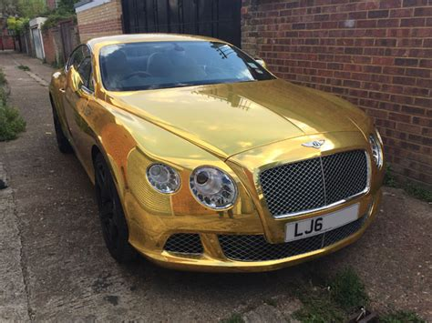 gold bentley bentley gold wrap