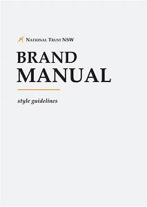 Nationa Trust Brand Guidelines By National Trust - Nsw