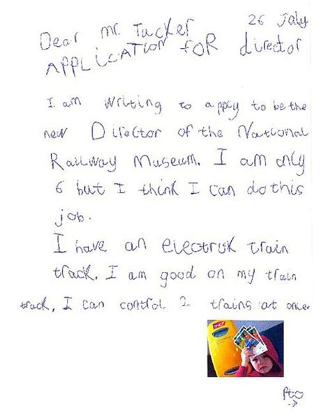 funny cover letters  job applications