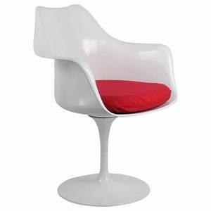 Chaise Tulipe Fly : chaise tulipe accoudoirs ~ Teatrodelosmanantiales.com Idées de Décoration