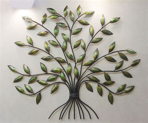 tree of life wall art decor metal sculpture indoor outdoor