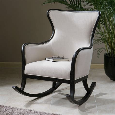 uttermost rocking chair white indoor rocking