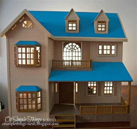 simple  dollhouse decorating part
