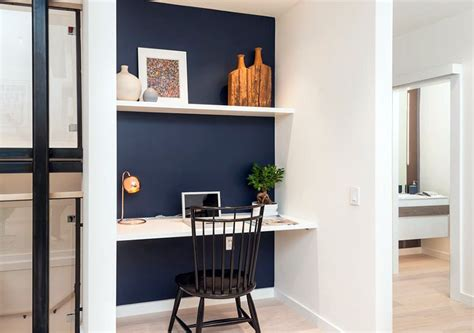 Home Layout With Creative Accent Colours by 28 Creative Small Home Office Ideas Designing Idea