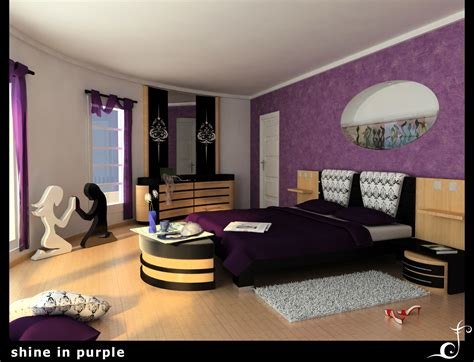 impossible purple bedroom ideas slodive