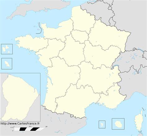 Géoconfluences, une publication à caractère scientifique pour le partage du savoir. Fond de carte des regions