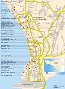 Bali Hotel Map