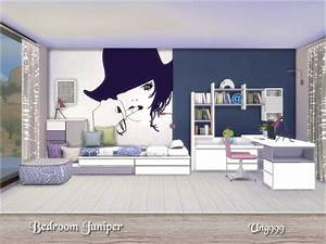 The sims resource bedroom juniper by ung999 o sims 4 for Bedroom juniper sims 4