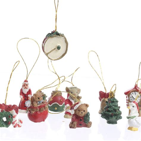 miniature christmas ornaments on sale holiday crafts