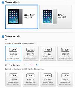 apple ipad air price canada