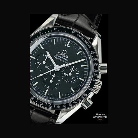 omega speedmaster professional moonwatch speedmaster  steel aligator bracelet