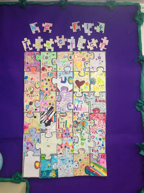jigsaw puzzle   fit  classroom displays
