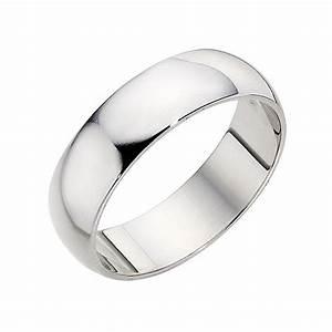 ernest jones plain platinum wedding band 6mm With mens platinum wedding rings uk