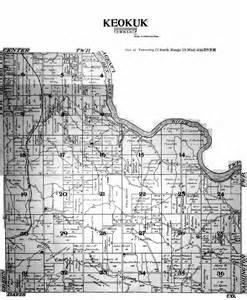 Wapello County Iowa Plat Map