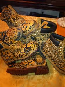 Graffiti Timberland Boots Custom