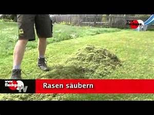 Vertikutieren Und Düngen : rasenpflege fruehling m hen vertikutieren d youtube ~ Buech-reservation.com Haus und Dekorationen