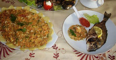 tastira cuisine tunisienne des mets et des couleurs mon complet poisson avec sa
