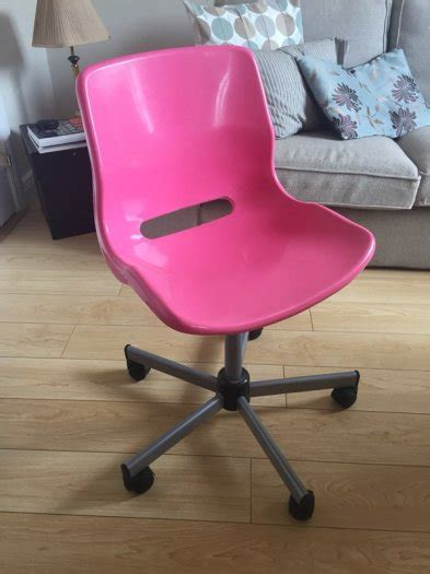 ikea snille swivel chair pink for sale in lusk dublin