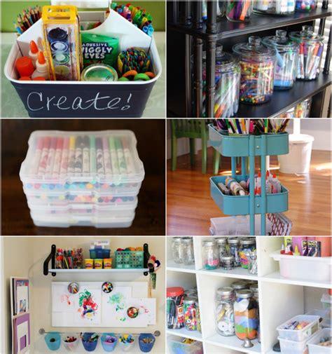 10 Best Ways To Organize Art Supplies  Modern Parents
