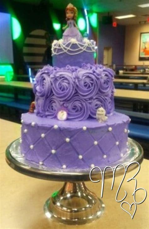 princess sofia   birthday cake