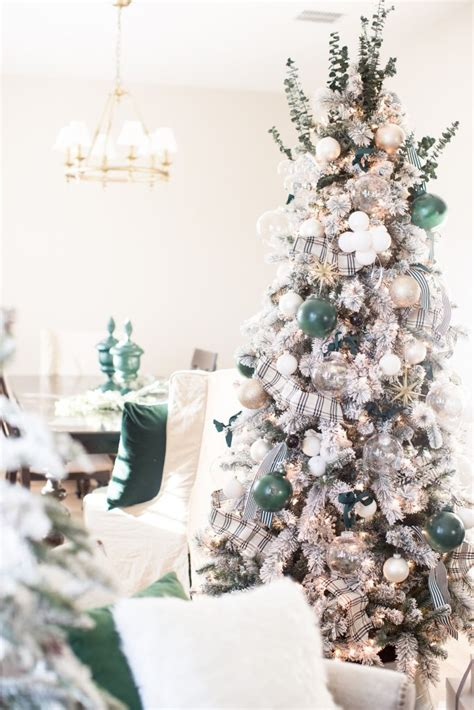 hunter green christmas tree decorations   holidays
