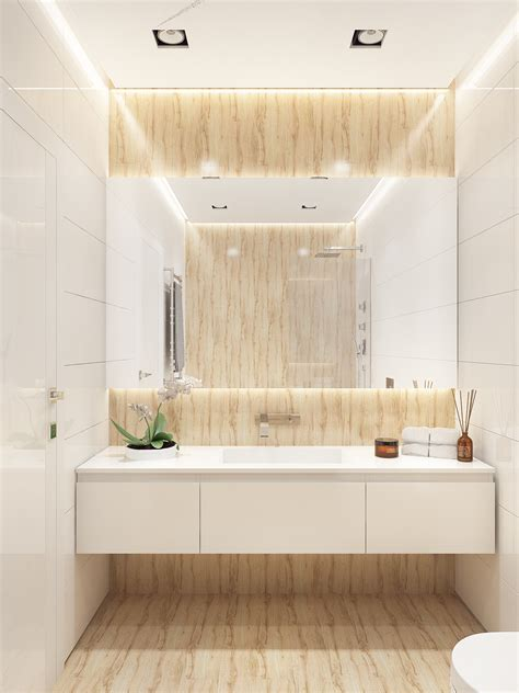 interior bathroom design similarly simple designs with a bright and cheerful tone
