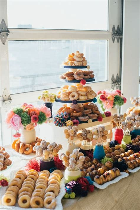 sunset terrace ny wedding show wedding donuts doughnut