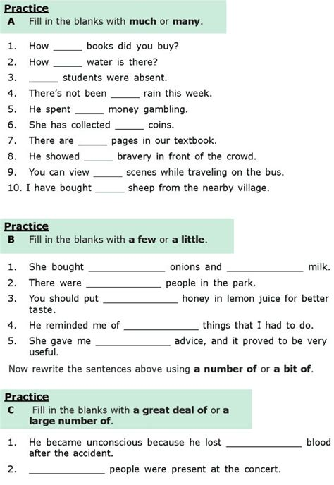 english grammar worksheets for grade 6 with answers free