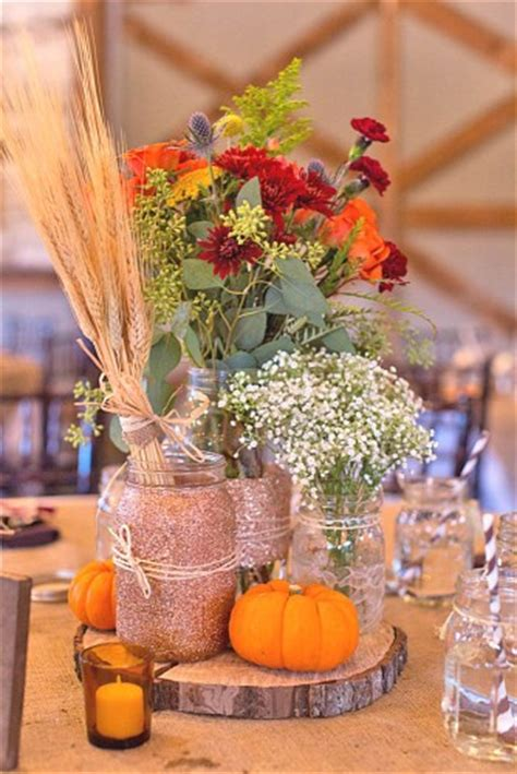 15 Incredible Ideas For Fall Wedding Decorations  Two