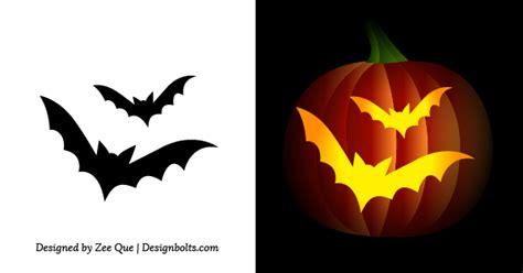 bat pumpkin stencil free simple easy pumpkin carving stencils patterns for kids 2014