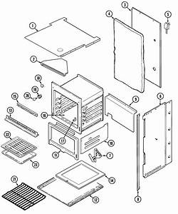 Oven  Body Diagram  U0026 Parts List For Model 9112xub Magic