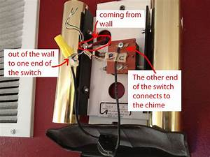 How To Install An On  Off Switch On Your Doorbell Chime