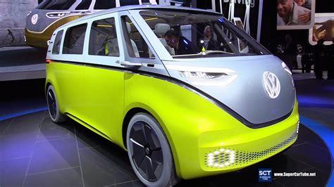 volkswagen id buzz concept exteriorinterior