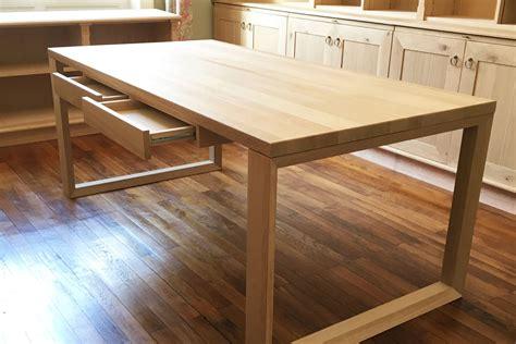 plateau de bureau bois revger com plateau de bureau en bois sur mesure idée