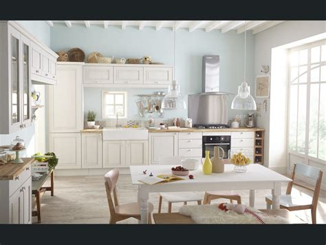 deco cuisine romantique cuisine blanc beige naturel delinia charme romantique