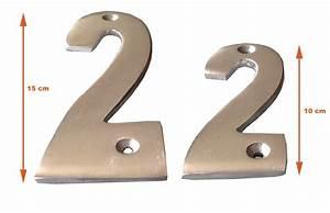 Numéro De Maison Design : num ro de rue aluminium 15 x 6 n 1 ~ Dailycaller-alerts.com Idées de Décoration