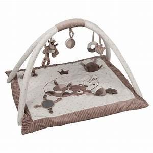 tapis d39eveil avec arches tom max et noa de nattou With affiche chambre bébé avec tapis acupression avis