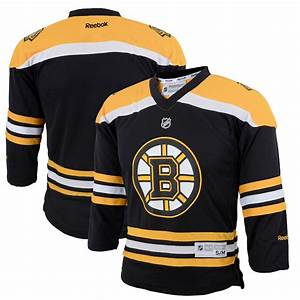 Fanatics Nhl Jersey Size Chart Youth Boston Bruins Reebok Black Replica Home Jersey
