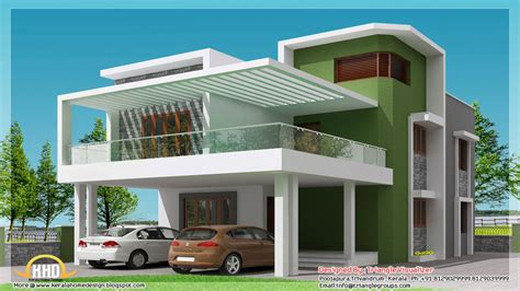 Simple Modern House Plan Designs Simple Slanted Roof