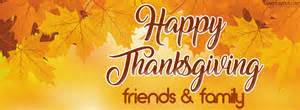 happy thanksgiving friends and family cover happy thanksgiving friends and family