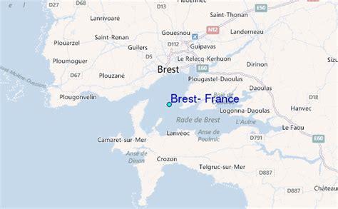 brest france tide station location guide