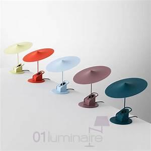 Lampe A Pince : lampe pince ou poser ile w153 led finition rouge de wastberg ~ Teatrodelosmanantiales.com Idées de Décoration