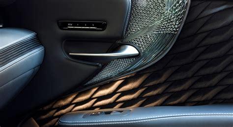 Bedroom Ls Glass by Designing The Lexus Ls Kiriko Glass Interior Trim