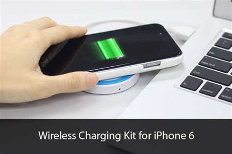 iphone wireless charging brando iphone 6 wireless charging kit with battery