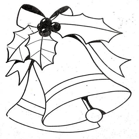 Dibujos Y Plantillas Para Imprimir Campanas Navidad Moldes