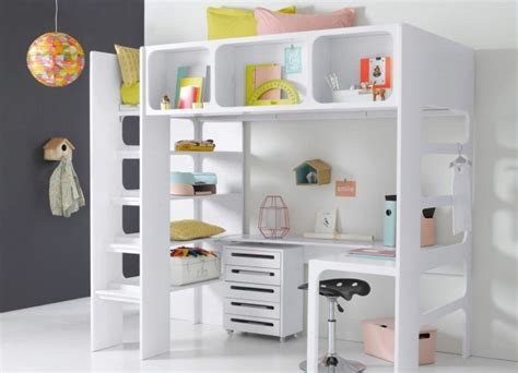 chambre evolutive conforama un lit mezzanine pour gagner de la place joli place