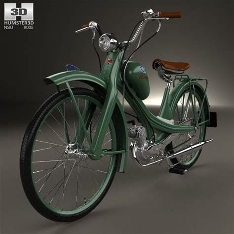 nsu quickly n nsu quickly n 1953 3d model from humster3d 100