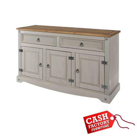 Corona Medium Sideboard corona grey medium sideboard factory furniture