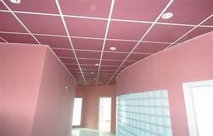 faux plafond pvc cuisine maison travaux With faux plafond en pvc pour cuisine