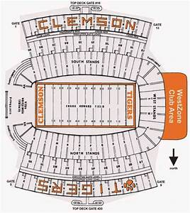 Florida Stadium Seating Chart Clemson Tigers 2011 College Football Schedule